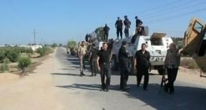"""ارتفاع قتلى هجوم تنظيم """"الدولة الإسلامية"""" بشمال سيناء المصرية إلى 18 شرطيا"""