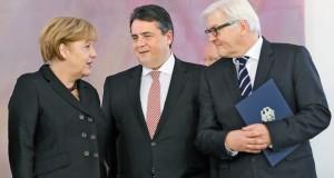 ميركل تساند وزير الخارجية الألمانية في خلافه مع رئيس الوزراء الإسرائيلي