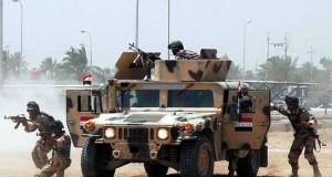 """الجيش العراقي يطرد تنظيم """"الدولة الإسلامية""""من منطقة حدودية مع سوريا"""