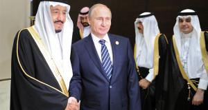 بوتين والملك سلمان يؤكدان رغبتهما في حل الأزمة السورية