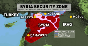 """آليات عملية """"إنشاء مناطق آمنة في سوريا"""" المخاوف والقيود والدروس المستخلصة"""